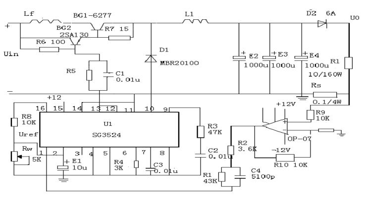 双向DC变换电源的恒流源设计方案详细说明