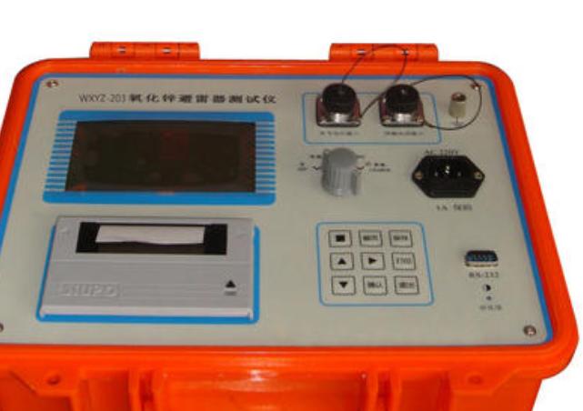 氧化锌避雷器测试仪的使用注意事项