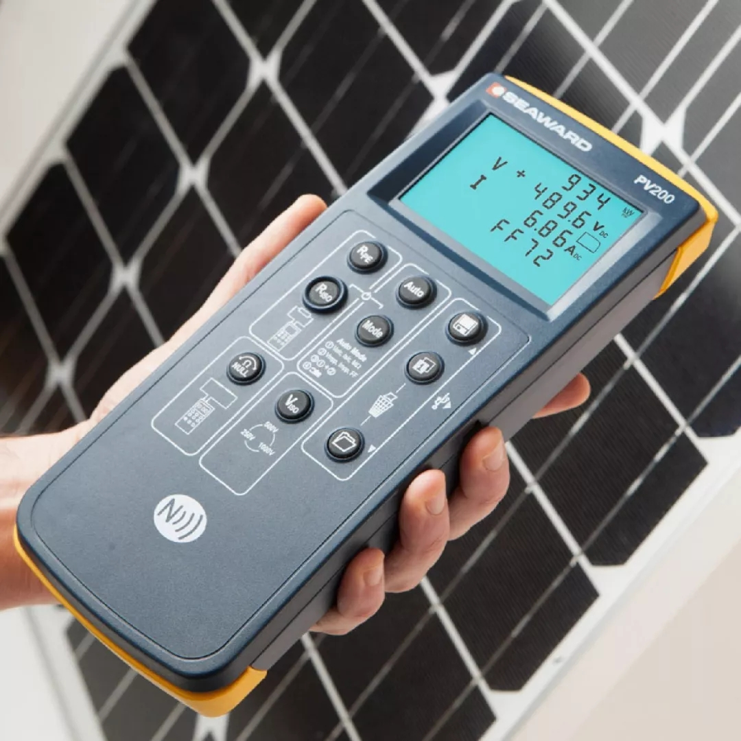 SEAWARD光伏行业测试明星产品 光伏及IV曲线测试仪PV200
