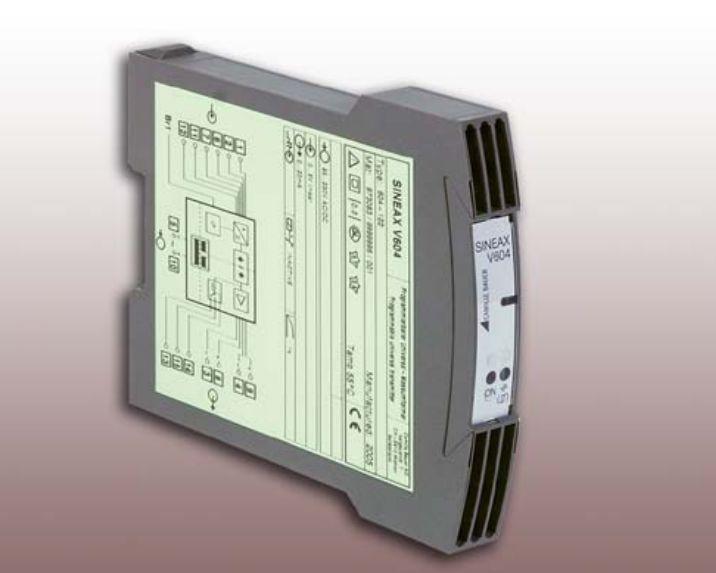 为航空飞机提供高精确度的发电机测试:变送器Sineax V 604