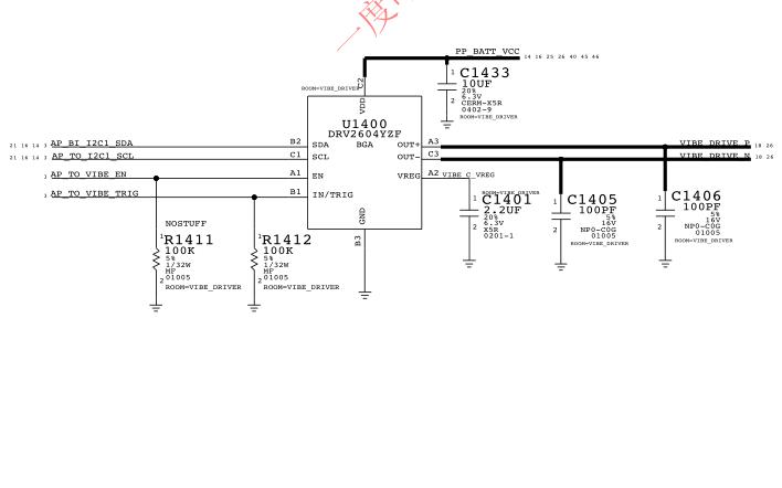 iphone6p的电路原理图免费下载