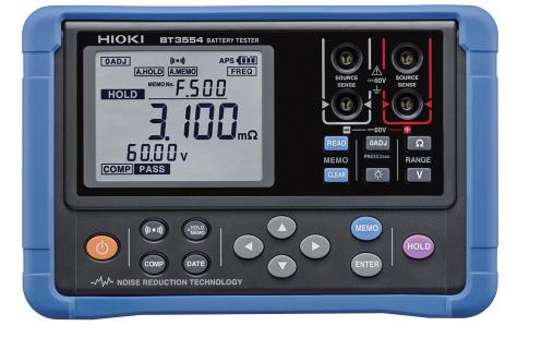 BT3554电池测试仪的使用说明书