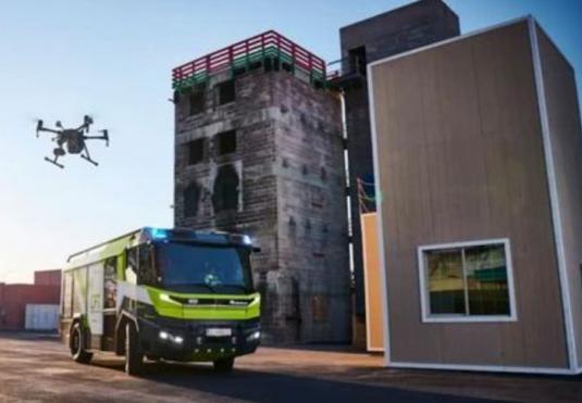 大疆无人机在消防领域中的应用正在走向成熟