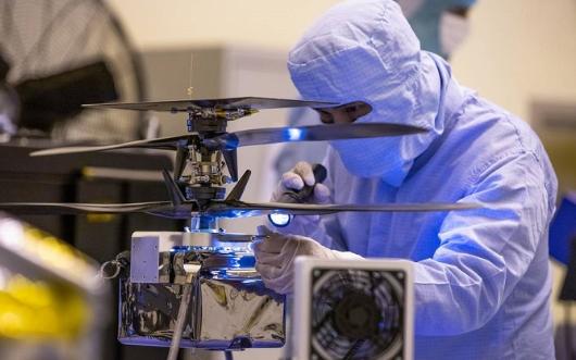 NASA火星直升机最终测试完成明年发射升空