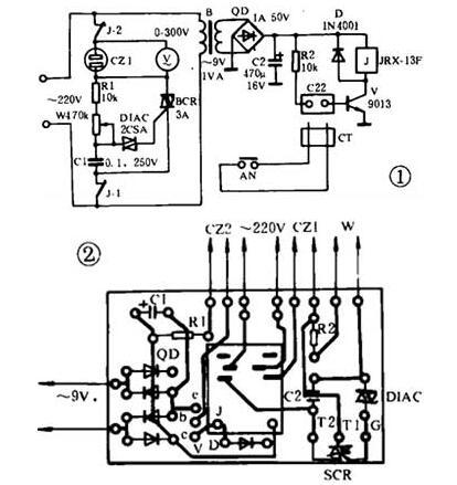 电烙铁焊接cmos电路原理图解析