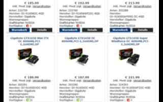 NVIDIA GTX 1650显卡升级,速率从8Gbps提升到12Gbps