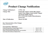 Intel四代酷睿(rui)H81主板停產 22nm工(gong)藝逐漸退出現(xian)役
