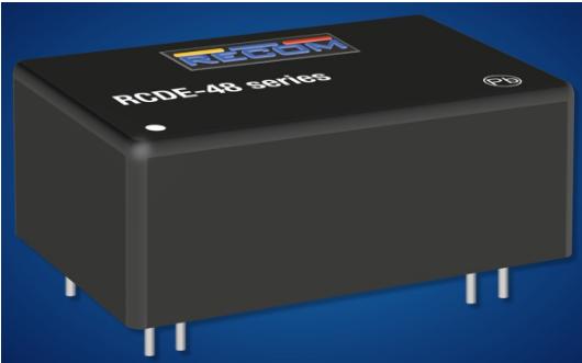 儒卓力推出(chu)全新RCDE-48系列Recom LED驅動(dong)器模塊