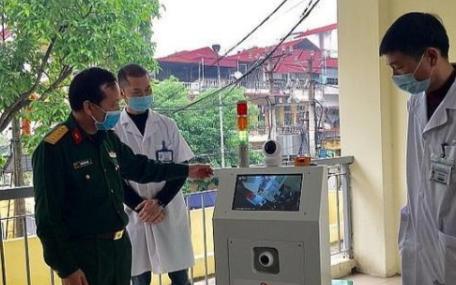 越南成功研发医用物流机器人,服务于疫情防控工作