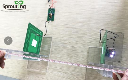 中远距离隔空充电真的可实现 蕊磁测试实拍曝光