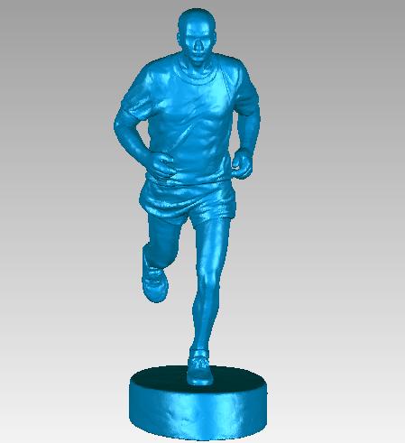 3D扫描仪油泥泥人艺术品雕塑工艺品人物扫描,获取...