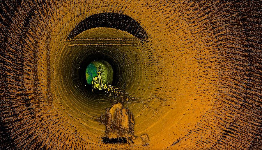 3D激光扫描仪铁路隧道公路隧道通道3D采集数据