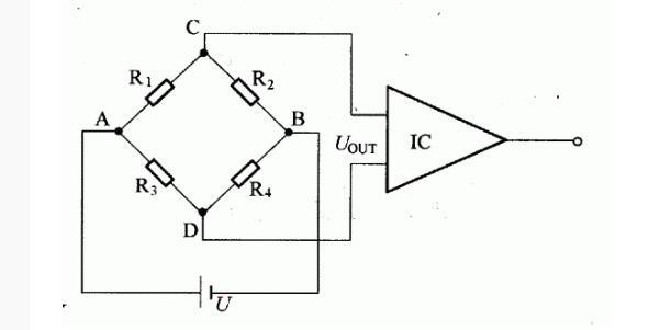电阻应变片电桥电路图
