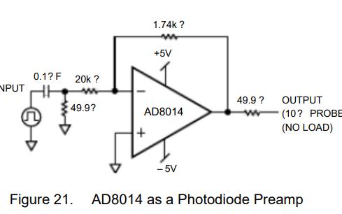 AD8014低功耗高性能放大器的中文数据手册免费下载