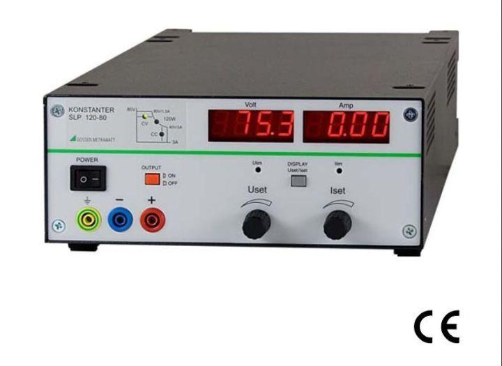 德国GMC-I高美测仪 单输出实验室电源:SLP系列电源