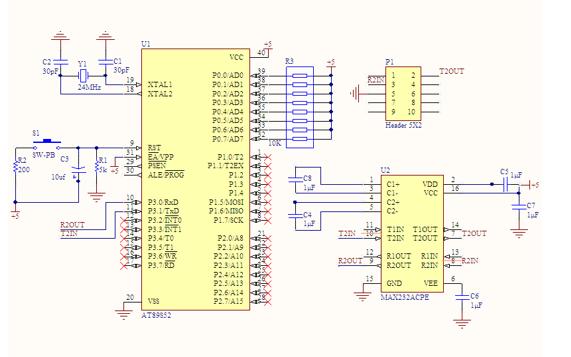 C51通信接口程序设计的