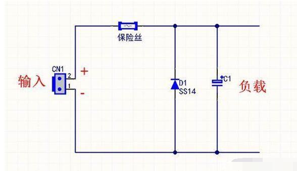 电路板怎么加肖特基二极管