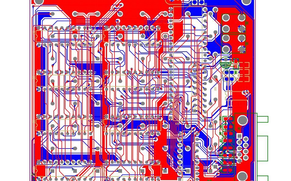 光立方焊接的PCB原理图免费下载