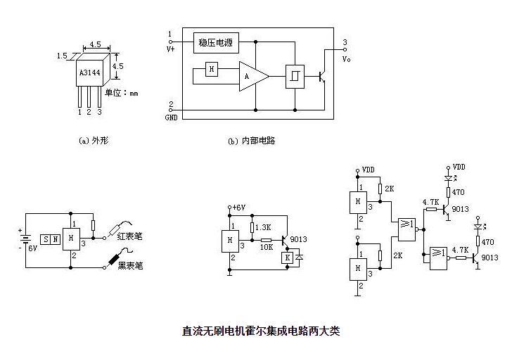 直流无刷电机霍尔集成电路分类_如何选择