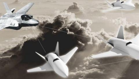 英国皇家空军成立了一个可操作无人机集群的实验单位