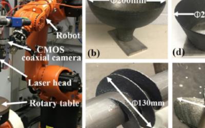 机器人激光送丝增材制造的组织与性能研究