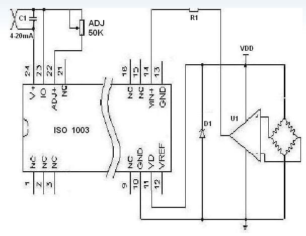 三款4-20ma模拟量采集电路图详解