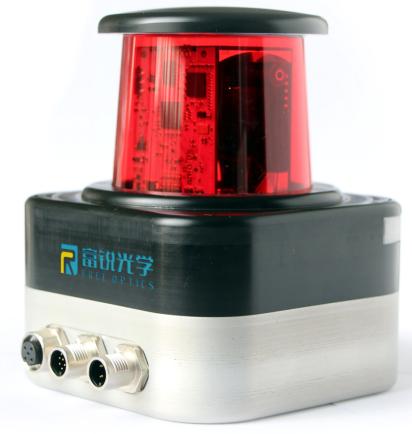 山東富銳光學推出了一款針對AGV與工業測量的激光雷達產品