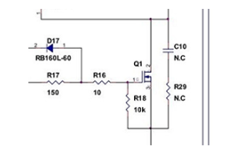 电源IC主要部件的选型:MOSFET Q1