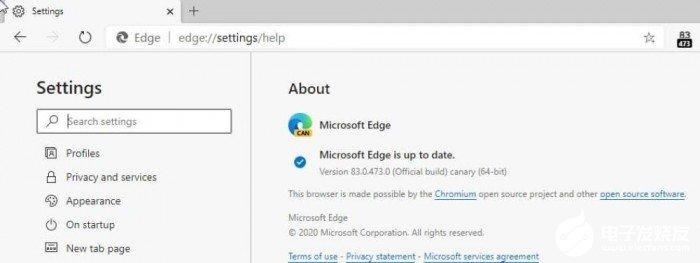 微软Edge浏览器最新Canary通道版本可将经典版Edge的相关数据导入到新版Edge浏览器中