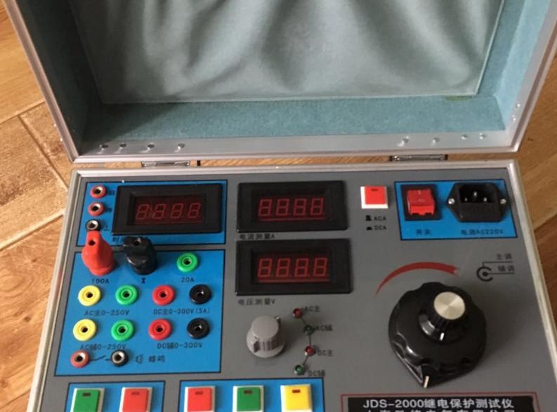 JDS-2000型繼(ji)電(dian)保護(hu)測(ce)試(shi)儀的使用方法(fa)