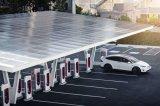 加拿大成为全球第三个有100座特斯拉超级充电站的...