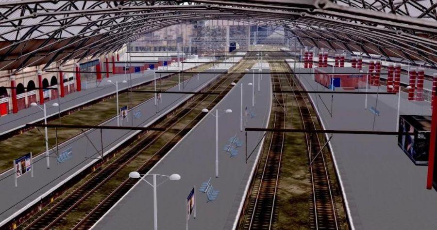 三维激光扫描技术协助铁路基础设施现代化建设铁路建...