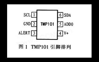 数字智能温度传感器TMP101的性能及与PICl...