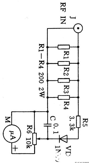 简易的高频功率表电路图