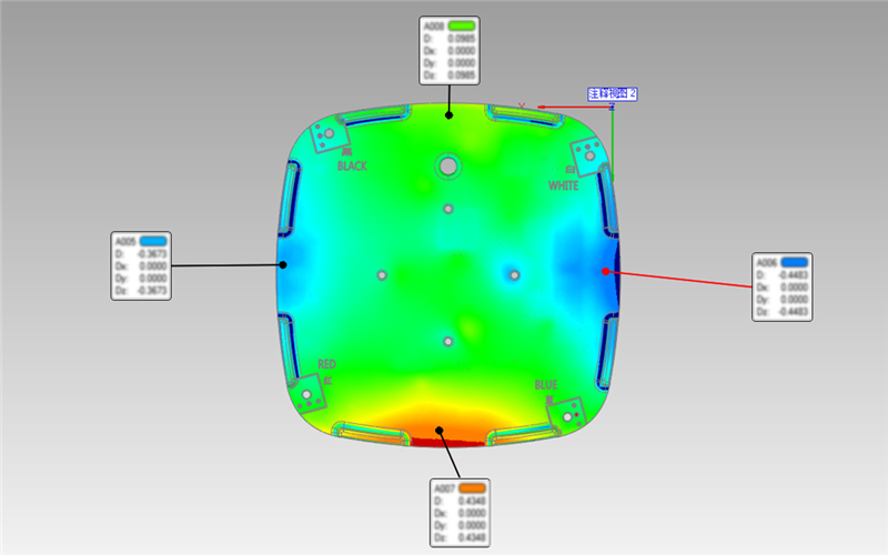南京宁瑞计量复合式双色激光三维激光仪高精度高细节...