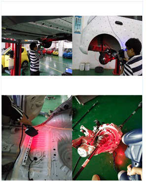 南京宁瑞计量逆向汽车零部件三维激光扫描逆向抄数设...