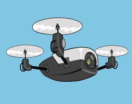 利用无人机结合4G聚合通信亚洲啪啪实现安防及交通巡视解决方案