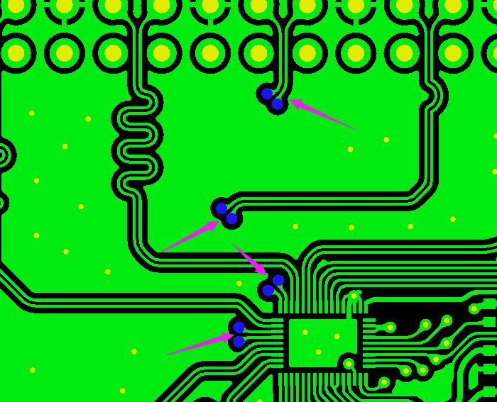 過孔無焊環示意圖1