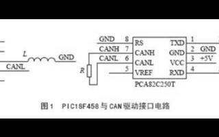 基于PIC18F458与PCA82C250芯片实现CAN接口电路的设计