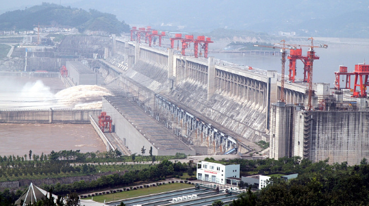 长江电力所属四座梯级电站累计发电量达352.9亿千瓦时 并持续加大三峡水库向长江中下游地区补水力度