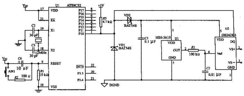 单总线器件DS2438的特点及实现微网测控系统的设计