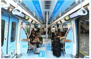 內蒙古移動(dong)在自治區首條(tiao)地鐵上(shang)成功(gong)開通了5G網絡
