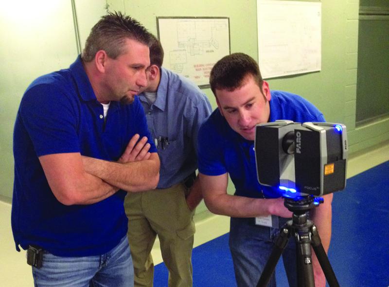 3d激光扫描仪大空间扫描在短时间内以最小的成本收...