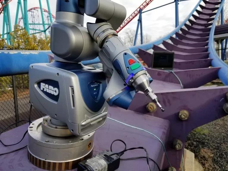 3D激光扫描技术有助于过山车维护和事故预防Far...
