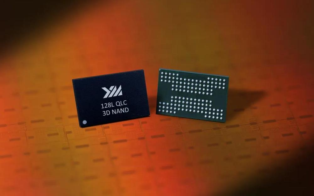 長江存儲推出 128 層 QLC 閃存,單顆容量達 1.33Tb