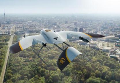 UPS和Wingcopter共同研发新型无人机用...