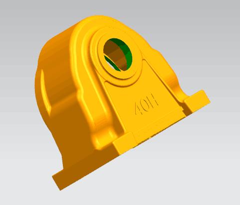 涡轮三维抄数逆向抄数逆向造型逆向造型设计手持式三...
