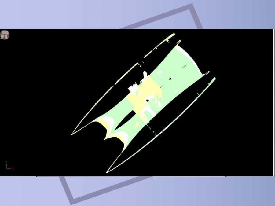 三维激光扫描仪对船体三维激光扫描项目形展科技产品...
