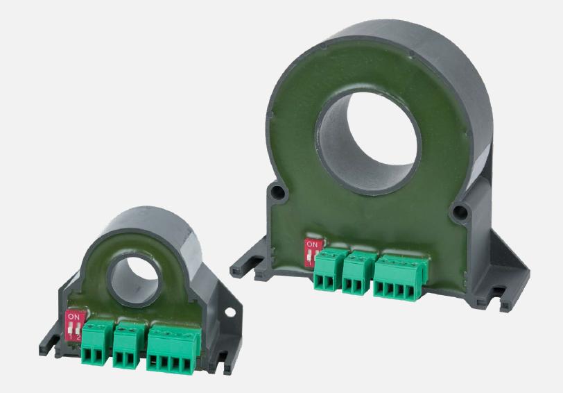 用于交流和直流電流表和電能表:電流傳感器 SIR...