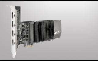 华硕新款GTX 710显卡性能升级,采用2GB ...